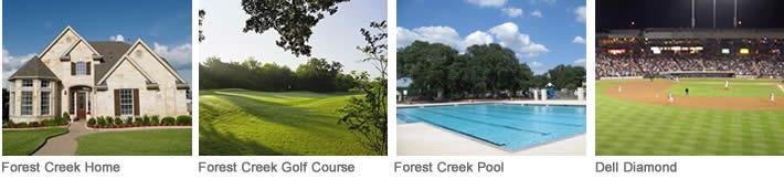 Forest Creek Neighborhood Round Rock TX